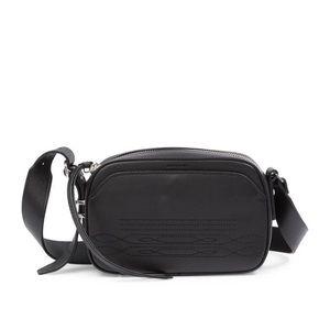 All Saints Black Cooper Camera Bag